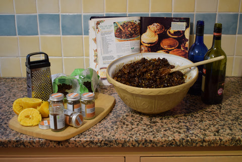 Recipe for making mince pies