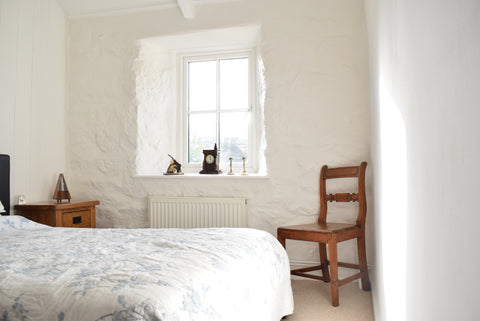 Bedroom 3 Cornish Cottage Renovation