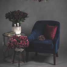 Load image into Gallery viewer, Aubergine Velvet Cushion