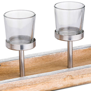 Glass Tea-Light Holders
