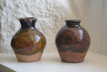 Load image into Gallery viewer, Two studio pottery vases