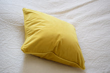 Load image into Gallery viewer, Mustard Velvet Cushion