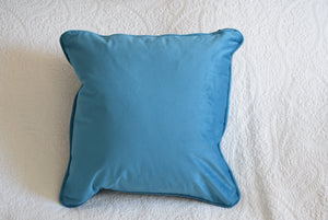 Teal Velvet Cushion