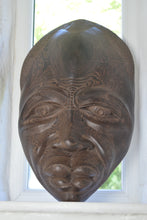 Load image into Gallery viewer, Large Hardwood Tribal Mask