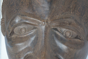 Hardwood Tribal Mask