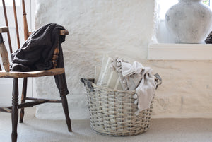 Large Wicker Storage Basket