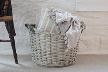 Load image into Gallery viewer, Large Wicker Storage Basket