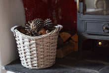 Load image into Gallery viewer, Small Wicker Storage Basket