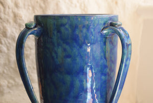 Brannam Three Handled Vase