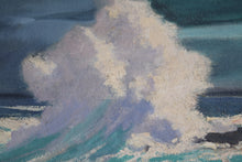 Load image into Gallery viewer, Painting Breaking Wave St Ives
