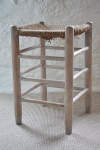 Lime-washed Pine Stool