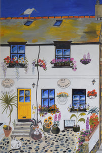 Painting of St Ives Cornwall