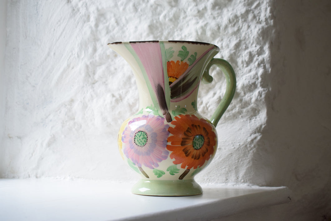 Floral Decorated Jug