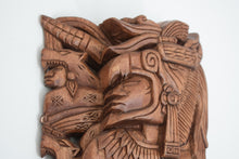 Load image into Gallery viewer, Vintage Large Carved Wooden Mask South American