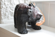 Load image into Gallery viewer, Carved Wooden Bear