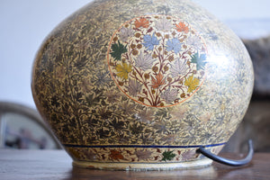 Antique Hand-Painted Kashmiri Table Lamp