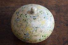 Load image into Gallery viewer, Antique Large Kashmiri Papier Mache Floral Lidded Pot