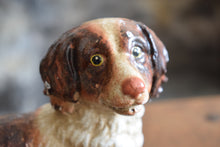 Load image into Gallery viewer, Large Vintage Heavy Cast Iron Spaniel Door Stop