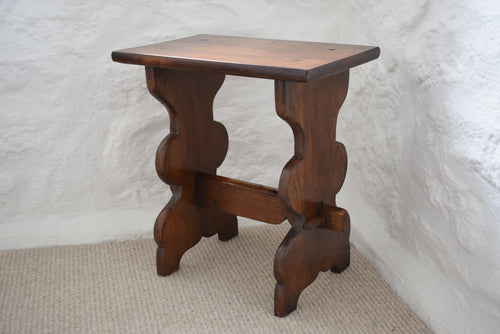 small peg jointed side table