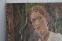 Load image into Gallery viewer, Oil On Canvas Portrait Lady