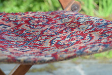 Load image into Gallery viewer, Victorian Carpet Upholstered Folding Deckchair Oetzmann and Co