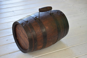 Antique 19th Century West Country Costrel Harvest Barrel