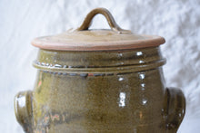 Load image into Gallery viewer, Stoneware  Lidded Storage Jar