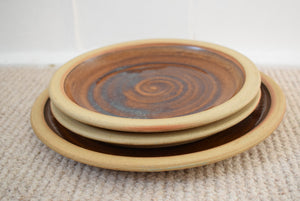 Cornish Studio Pottery Plates