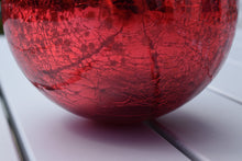 Load image into Gallery viewer, Antique Red Mercury Glass Witches Ball