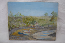 Load image into Gallery viewer, Original Oil On Panel River Fal Signed D.R.R Robinson 1998