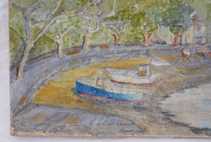 Original Oil On Panel River Fal Signed D.R.R Robinson 1998