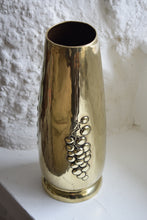 Load image into Gallery viewer, Large Brass Vase
