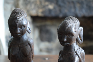 Antique Yoruba People African Tribal Figures