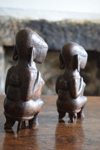 Load image into Gallery viewer, Antique Yoruba People African Tribal Figures