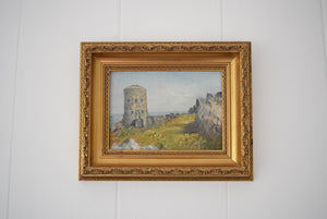 Loophole Tower Guernsey Oil Painting