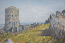 Load image into Gallery viewer, Loophole Tower Guernsey Oil Painting