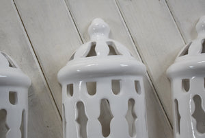 Vintage Ceramic Wall Lanterns Traditional Portuguese