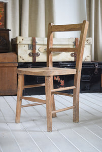 Antique School Chair
