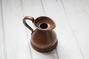 Copper Haystack Jug Measure 1 Gill