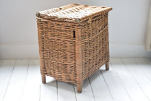 Load image into Gallery viewer, Antique Wicker Basket on Legs