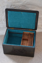 Load image into Gallery viewer, Upcycled Vintage Sewing Box