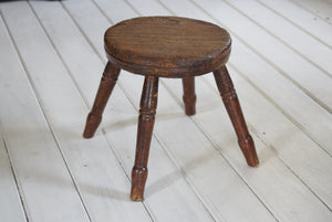 Antique Georgian Milking Stool