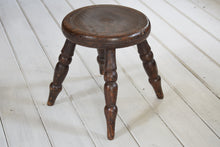 Load image into Gallery viewer, Oak Milking Stool