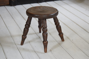 Oak Milking Stool