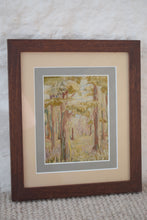 Load image into Gallery viewer, embroidery of a woodland scene