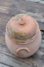 Load image into Gallery viewer, Earthenware Lidded Storage Jar