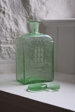 Load image into Gallery viewer, Green Blown Glass Scent Bottle