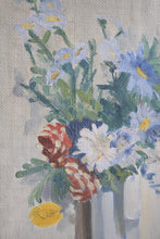 Load image into Gallery viewer, Oil on Board Still Life Flowers