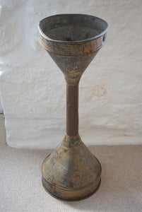 Antique Floor Standing Brewers Funnel