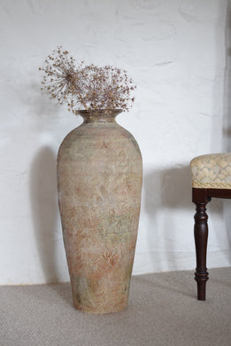 Earthenware Floor Vase